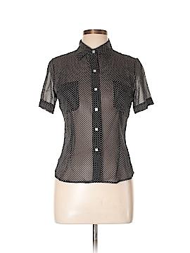 Leggiadro Short Sleeve Silk Top Size 6