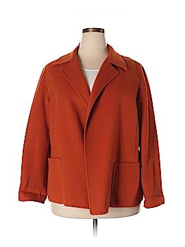 Linda Allard Ellen Tracy Wool Coat Size 16