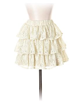 Blue Asphalt Casual Skirt Size XS