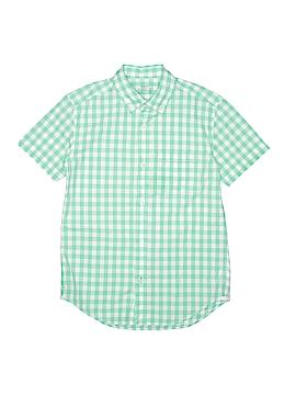 Crewcuts Short Sleeve Button-Down Shirt Size 12