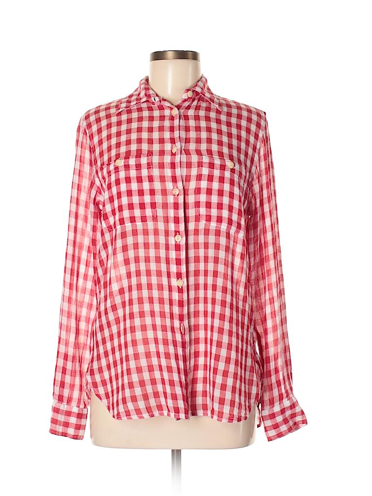 Denim & Supply Ralph Lauren Women Long Sleeve Button-Down Shirt Size M