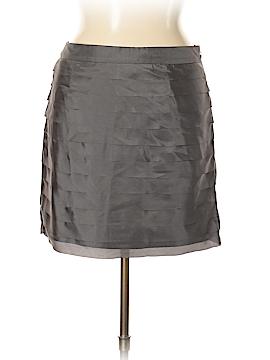 Ann Taylor LOFT Silk Skirt Size 14