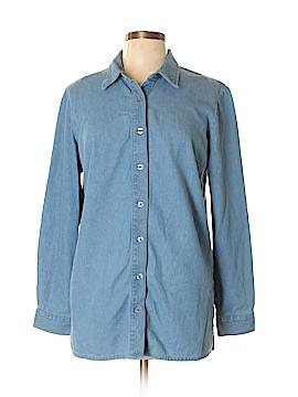Blair Long Sleeve Button-Down Shirt Size M