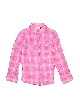SO Long Sleeve Button-Down Shirt Size 10/12