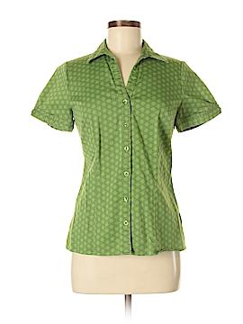 Apt. 9 Short Sleeve Button-Down Shirt Size M