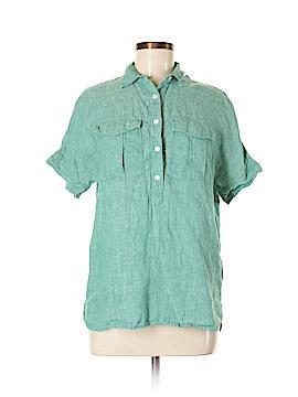 J. Crew Short Sleeve Button-Down Shirt Size 2 (Tall)