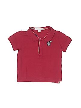 Burberry Short Sleeve Polo Size 12 mo