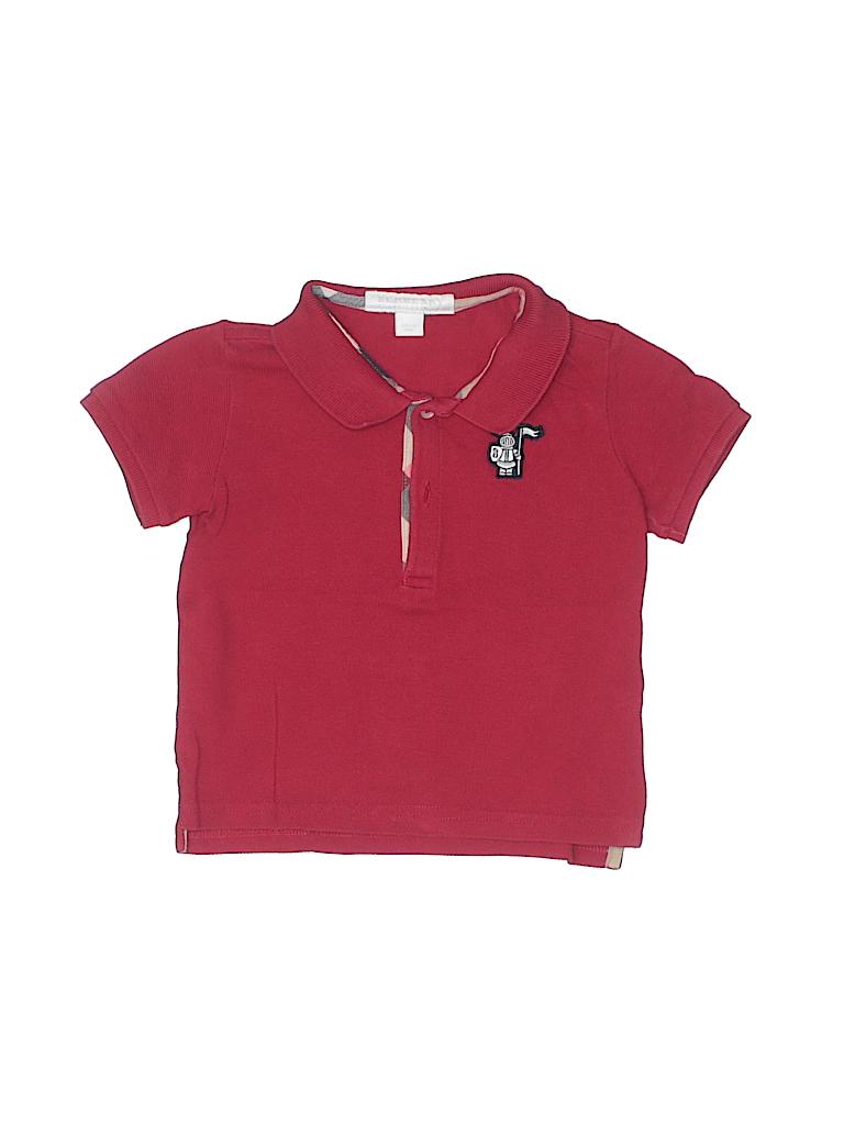 Burberry Boys Short Sleeve Polo Size 12 mo