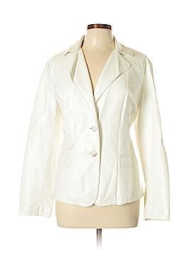 Cristina Faux Leather Jacket Size XL