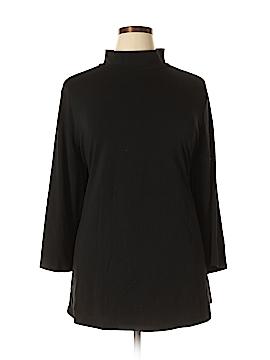 Kim Rogers 3/4 Sleeve Top Size 3X (Plus)
