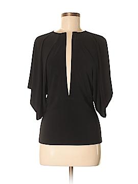 Jacques Moret Short Sleeve Blouse Size S