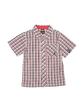 Jordan Short Sleeve Button-Down Shirt Size 4T