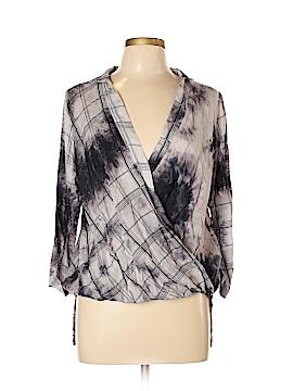 Hem & Thread Long Sleeve Blouse Size M