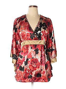 Allison Taylor 3/4 Sleeve Blouse Size XL
