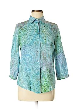 Robert Graham Long Sleeve Button-Down Shirt Size M