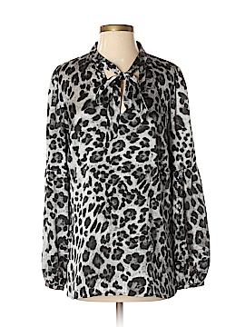 MICHAEL Michael Kors Long Sleeve Blouse Size M