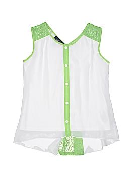 I.N. Girl Sleeveless Blouse Size 14