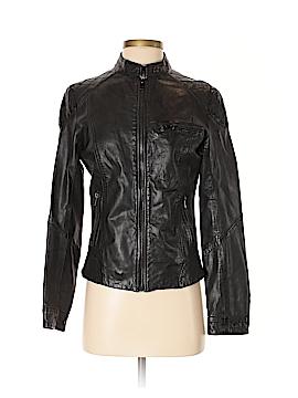 Bod & Christensen Leather Jacket Size S