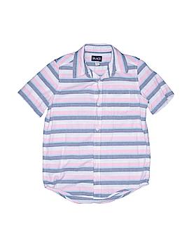 The Children's Place Short Sleeve Button-Down Shirt Size 10 - 12