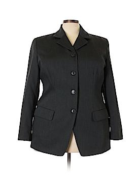 Josephine Chaus Wool Blazer Size 18 (Plus)