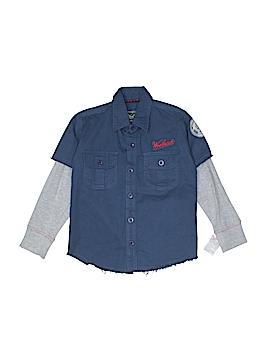 Woolrich Long Sleeve Button-Down Shirt Size 4