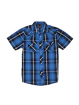 Gioberti Short Sleeve Button-Down Shirt Size 10