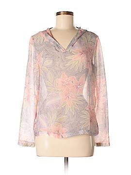 Tommy Bahama Long Sleeve Silk Top Size 6