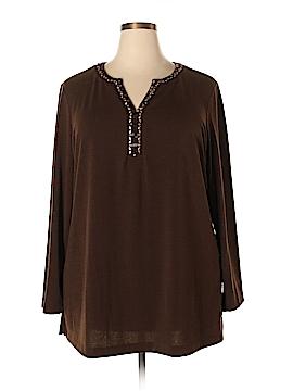 Dana Buchman Pullover Sweater Size 2X (Plus)