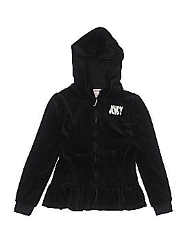 Juicy Couture Zip Up Hoodie Size 8 - 10