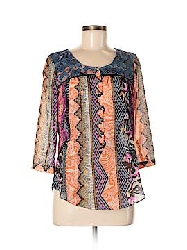 Vanessa Virginia 3/4 Sleeve Blouse Size 8