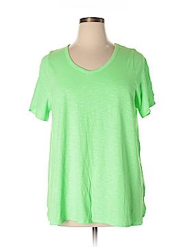 Catherines Short Sleeve T-Shirt Size 0X (Plus)