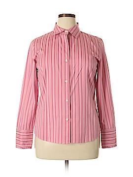 Liz Claiborne Long Sleeve Button-Down Shirt Size 12