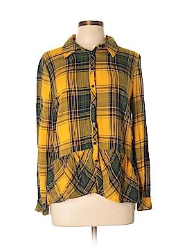 Kensie Long Sleeve Button-Down Shirt Size XL