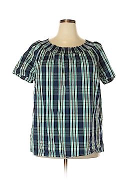 Talbots Short Sleeve Blouse Size 2X (Plus)