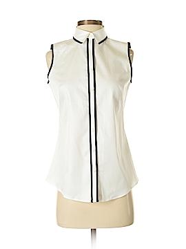 Banana Republic Sleeveless Button-Down Shirt Size 4