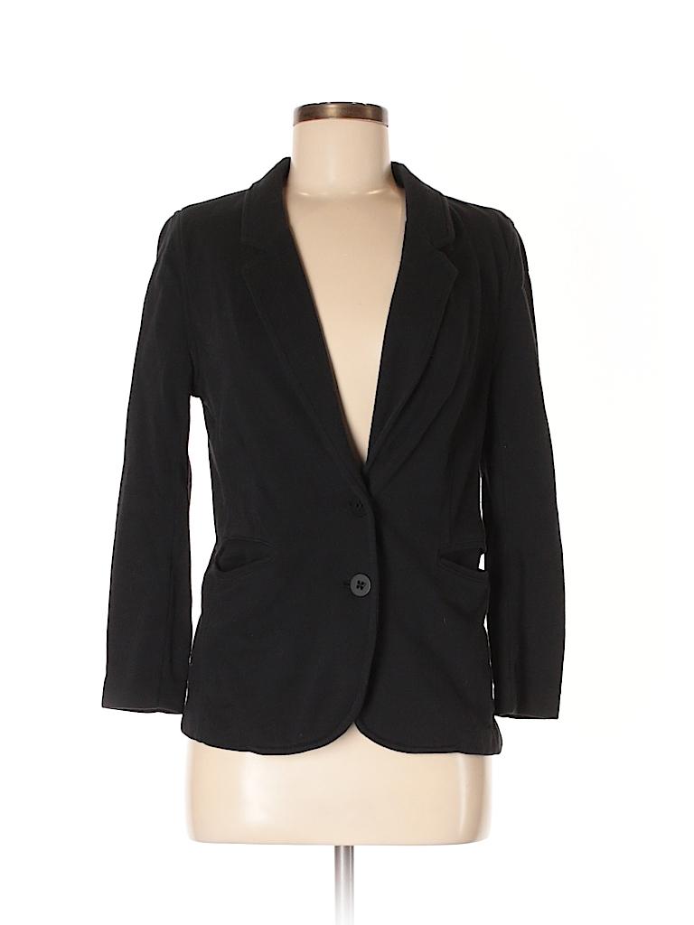 9b94c6bd22f7 T by Alexander Wang Solid Black Blazer Size M - 88% off   thredUP