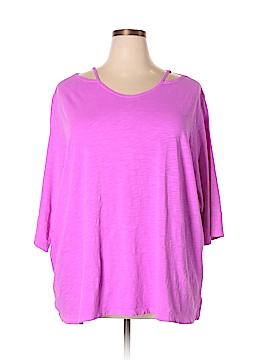 Catherines Short Sleeve Top Size 2XW Petite (Plus)