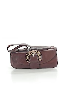Nicole Miller Leather Shoulder Bag One Size