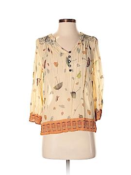 Floreat 3/4 Sleeve Silk Top Size 0