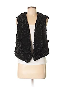 Kensie Faux Fur Vest Size M