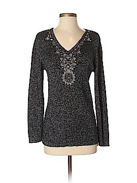 Lauren Michelle Pullover Sweater Size M