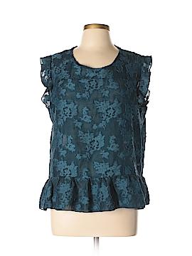 Lauren Conrad Short Sleeve Blouse Size XL