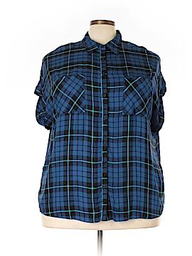 Como Vintage Short Sleeve Blouse Size 2X (Plus)