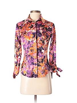 Just Cavalli Long Sleeve Blouse Size 38 (IT)