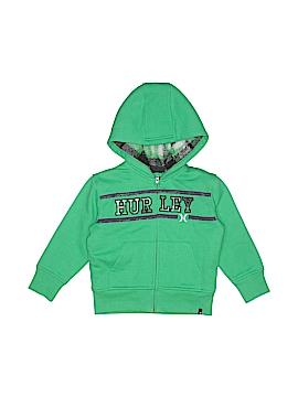 Hurley Zip Up Hoodie Size 2T