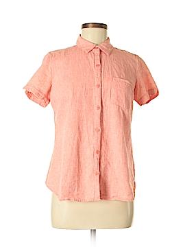Kim Rogers Short Sleeve Button-Down Shirt Size M