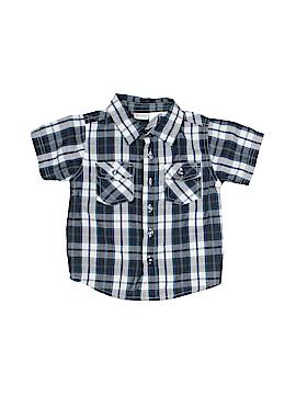 KZ Boys Short Sleeve Button-Down Shirt Size 2T