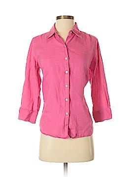 L.L.Bean 3/4 Sleeve Button-Down Shirt Size S