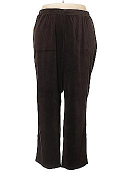 Catherines Velour Pants Size 3X (Plus)