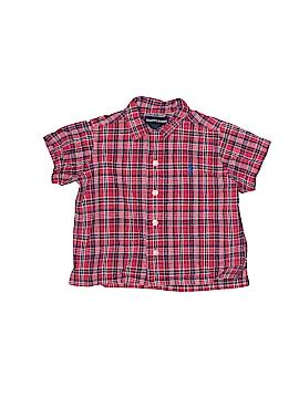 Ralph Lauren Short Sleeve Button-Down Shirt Size M (Kids)